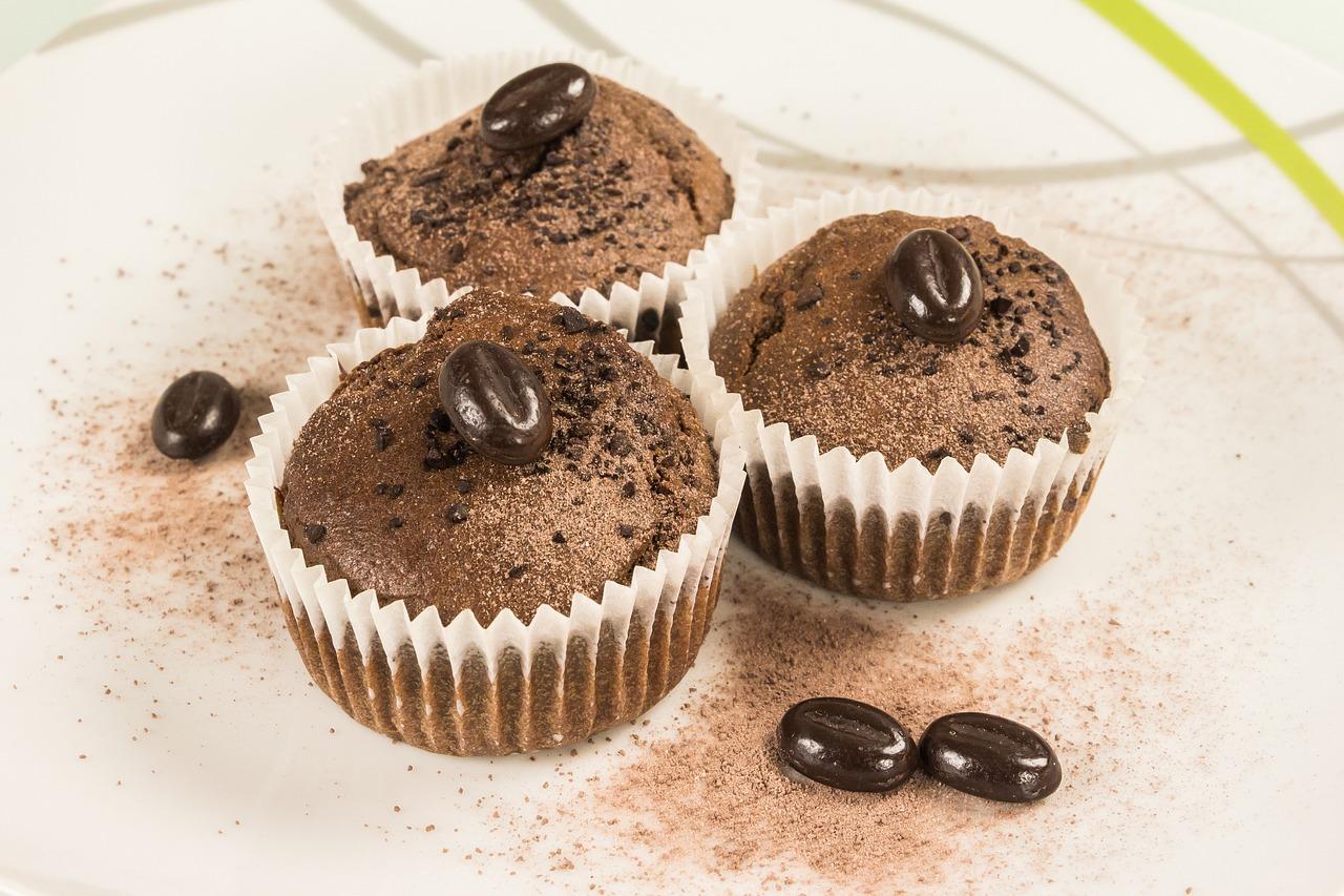 Jedinečné čokoládové muffiny