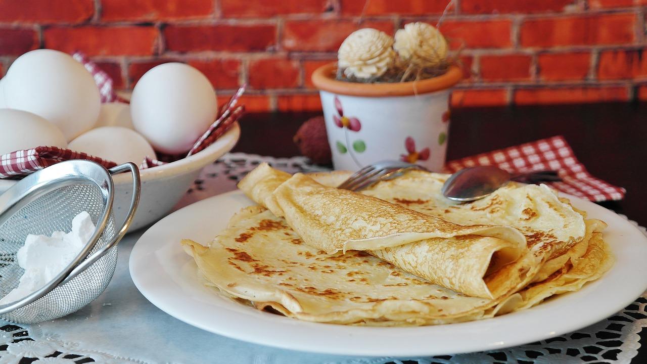 Babiččin tradiční recept na palačinky s marmeládou.