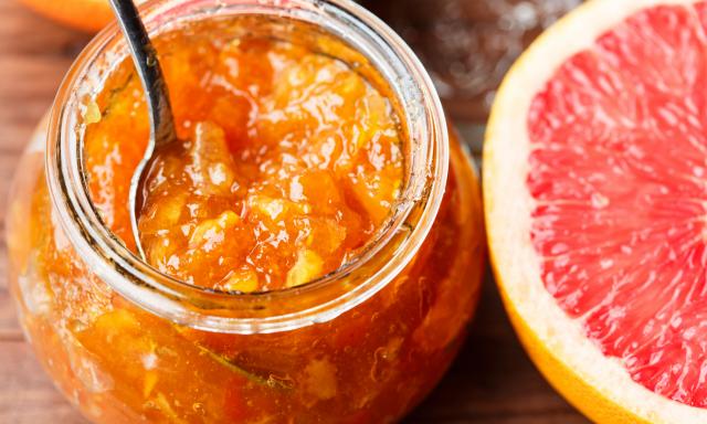 Kombinovaná citrusová marmeláda s vodkou