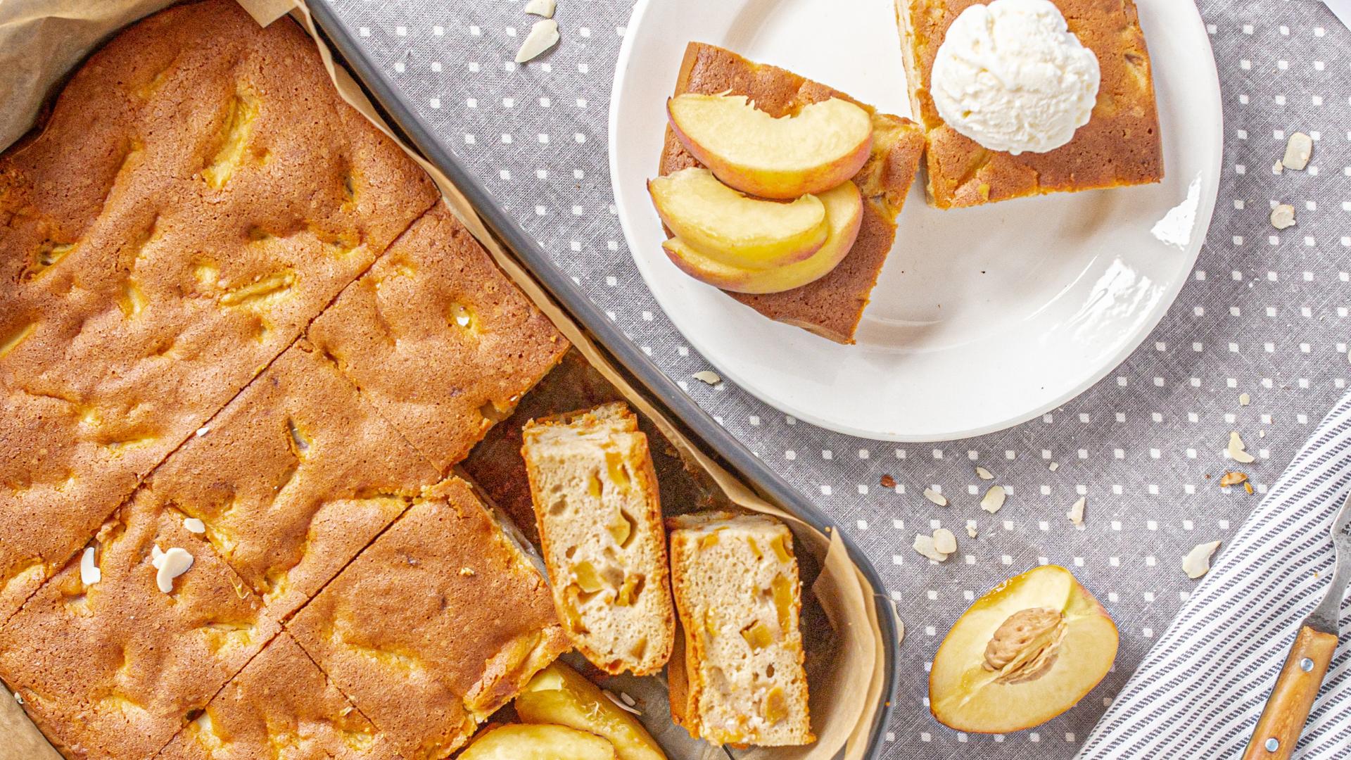 Rychlý recept na skvělý broskvový koláč