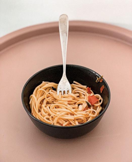 Aglio olio. Jednoduché špagety, které vás nadchnou