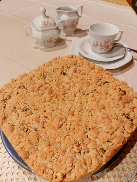 Tradiční bavorský jablečný koláč