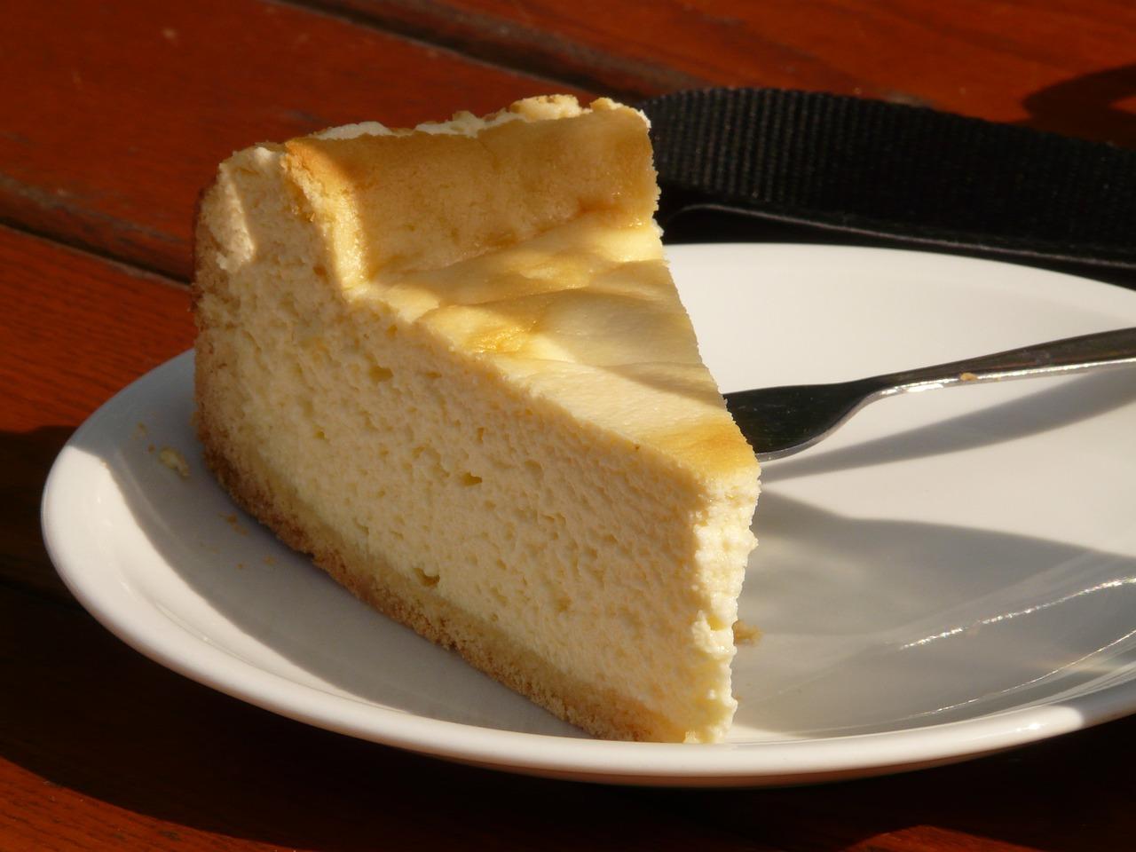 Citronový koláč s levandulí