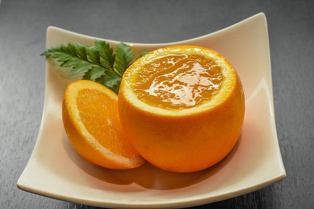 Plněné pomeranče
